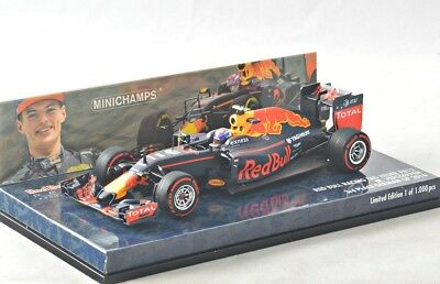 NEW 1/43 Minichamps 417160833 Red Bull RB12, Germany GP 2016, Max Verstappen #33
