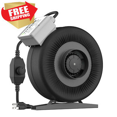 VIVOSUN 4 Inch 203 CFM Inline Duct Ventilation Fan for Grow Tent with...