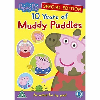 Peppa Pig: 10 Years Of Muddy Puddle - DVD - NEW ITEM