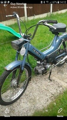 Puch maxi moped very rear 2 speed automatic