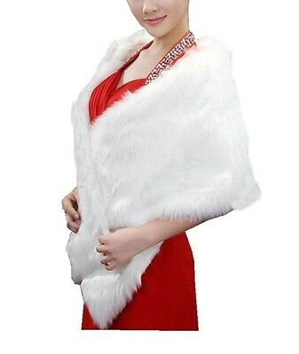 APTRO Women's Faux Fur Shawl and Wraps for Evening Dresses