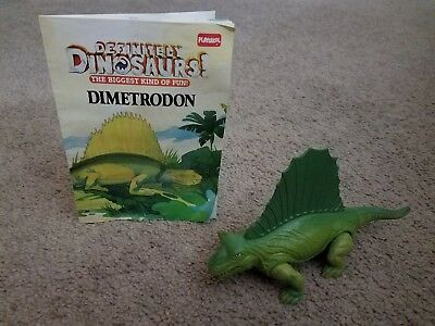 Vine Playskool 1987 Definitely Dinosaurs Anatosaurus Action Figure Toy