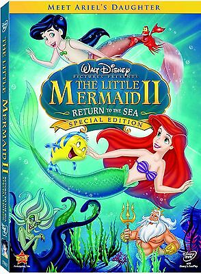 The Little Mermaid II 2 Return to the Sea DVD Special Edition New with Slipcover