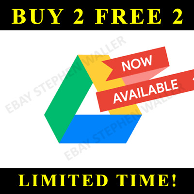 ☑️google Drive Unlimited Storage On Existing Acc Lifetime - Not Edu - Buy1 Free1
