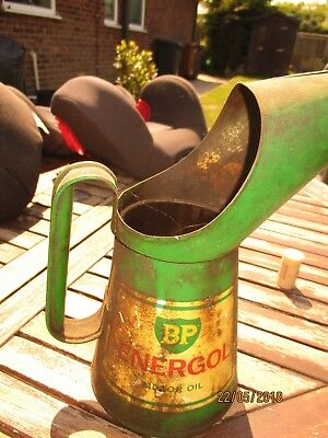 Old BP oil can