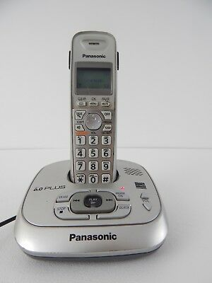 panasonic kx tg6591 dect 6 0 plus cordless phone with answering rh picclick com instruction manual for panasonic cordless phone kx-tga402 Panasonic Kx TGA 402 Manual