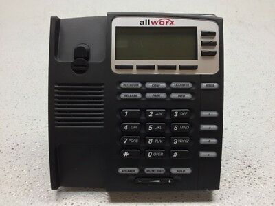 Allworx 9204 VoIP Display IP Phone with Stand - Tested & Working, FACTORY RESET