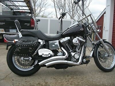2002 Harley-Davidson Dyna  2002 Harley Davidson Dyna FXWG, Chromed out, very Clean, excellent condition