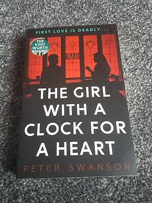 The girl with a clock for a heart - paperback book