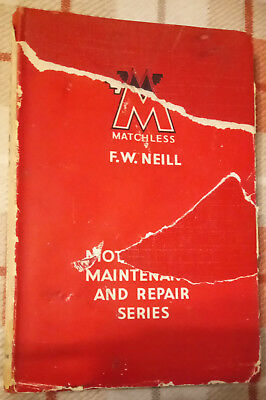 Pearson Series Manual- Matchless, Coventry Eagle, Morgan, Brough Superior, etc