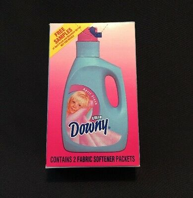Vintage collectible DOWNY fabric softener 2 Packets