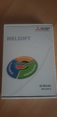 Mitsubiahi MELSOFT iQ Works Plc/Hmi software *Sealed New in box*