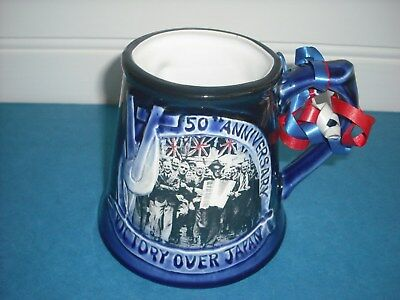Great Yarmouth Pottery V.J.Day Ltd Ed.360/500 1995 Mug Japan WW11