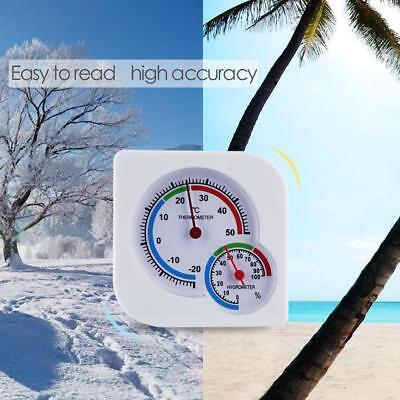 Indoor Outdoor -20~50℃ 0-100%RH Precision Pointer Hygrometer Thermometer Meter