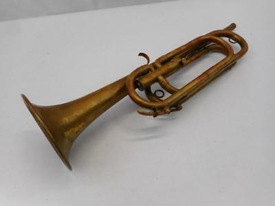 Antique Slingerland Howard C Knobel Model Single Valve Bugle Military