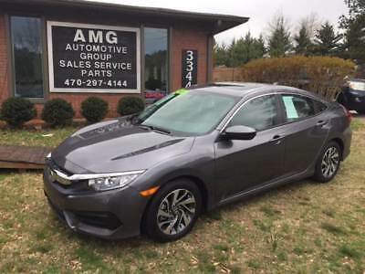 Civic EX 4dr Sedan 2017 Honda Civic EX 4dr Sedan 5,486 Miles Gray Sedan 2.0L I4 Natural Aspiration