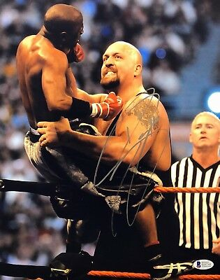 Paul Wight Signed Autographed Wwe The Big Show 11x14 Photo Jsa
