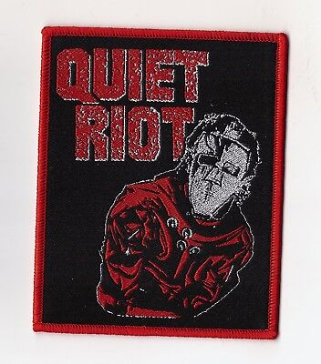 "Quiet Riot ""Metal Health"" Patch twisted sister-wasp-motley crue-def leppard-dio"