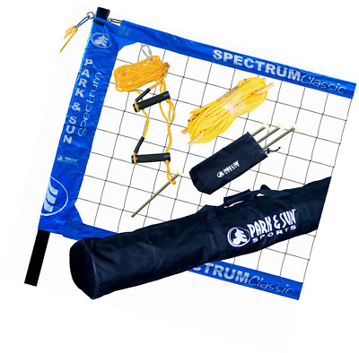 Park & Sun Sports Spectrum Classic: Portable Professional Outdoor Volleyball Net