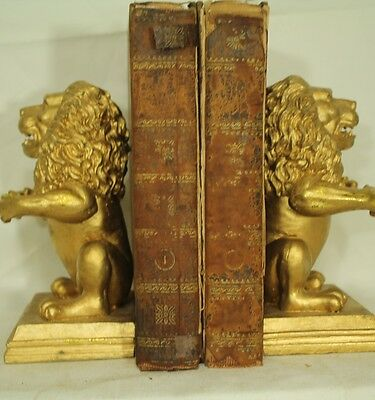 lot 2 vol rare antique leather old books The Independent Man George Ensor 1806