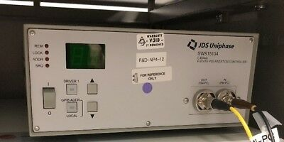 JDS Uniphase SWS15104 C-Band 4-State Polarization Controller
