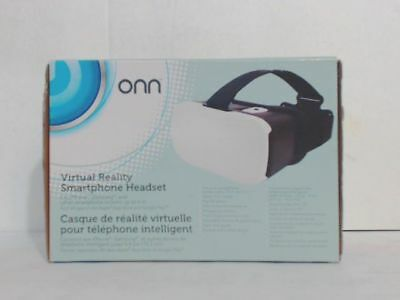 NEW ONN ONCABR001 Virtual Reality VR Smartphone Headset White