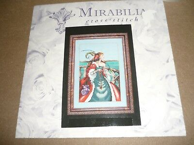 "Mirabilia - ""the Red Lady Pirate""- Cross Stitch Chart Only"