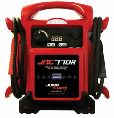 Jump-N-Carry JNC770R 1700 Peak Amp Premium 12-Volt Jump Starter and Power Supply