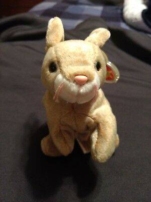 TY Beanie Babies Collection Original Nibbly born 1998 with tag error, rare?
