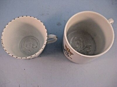 Lithopane  mug and cup C1895/1902