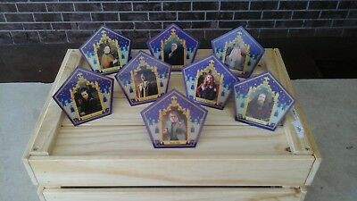 Harry Potter Chocolate Frog Card All 8 ☆The Complete Set☆ BEST DEAL ON EBAY