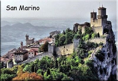San Marino Photo Fridge Refrigerator Magnet Travel Souvenir (110)