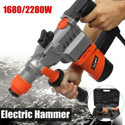 2280W Demolition Jack Hammer Drill Double Insulated Concrete Breaker Jackhammer