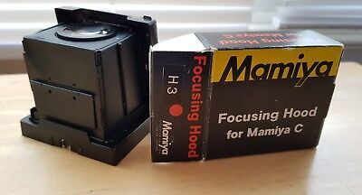 Mamiya H3 focusing hood for C series tlr cameras. Boxed in excellent condition.
