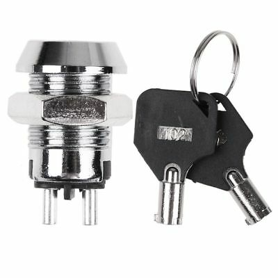 H-102 12mm Electronic Key Switch Lock Off/On Lock Switch High security tubular