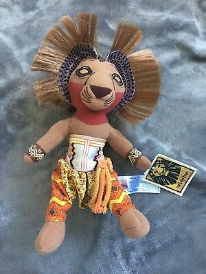 Disney The Lion King Broadway Musical Official Merchandise Simba