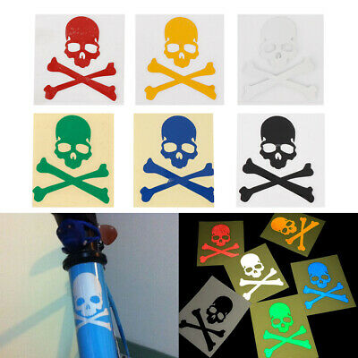Bicycle Sticker Night Luminous Cycling Reflective Safety MTB Fixed Gear 6 Color