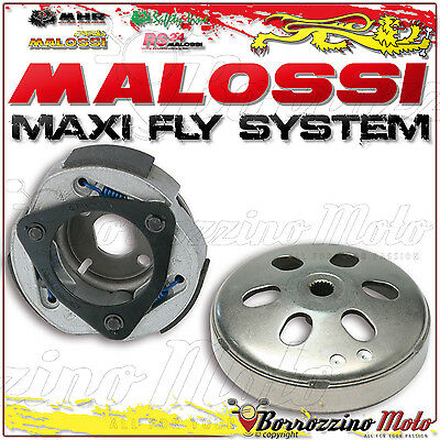 MALOSSI 5214724 CLUTCH + BELL D 125 MAXI FLY SYSTEM KYMCO AGILITY R16 i 200