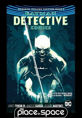 Batman Detective Rebirth Dlx Coll Book 02 - Hardcover