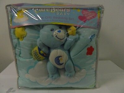 Care Bears Baby 4 Pc Crib Bedding Set New In Package