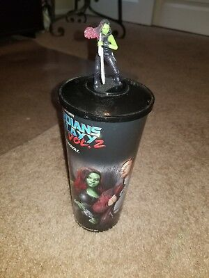 Guardians of the Galaxy Gamora movie cup and topper