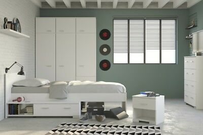 kinderzimmer mona 4 tlg bett kleiderschrank kommode. Black Bedroom Furniture Sets. Home Design Ideas