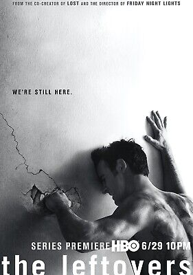 THE LEFTOVERS TV Show PHOTO Print POSTER Series Art Justin Theroux Kevin 001