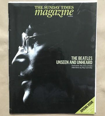September 2009 Sunday Times Magazine Special Beatles Issue