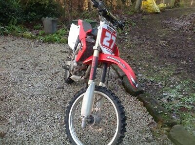 honda crf 150 big wheel motorbike