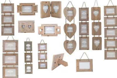 Driftwood / Natural Wooden Wood Photo Frames Authentic Rustic Shabby Chic Design