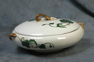 Poppy Trail California Ivy by Metlox 9 Inch SERVING DISH WITH LID