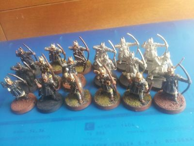 18 numenor man with bow metal rare oop