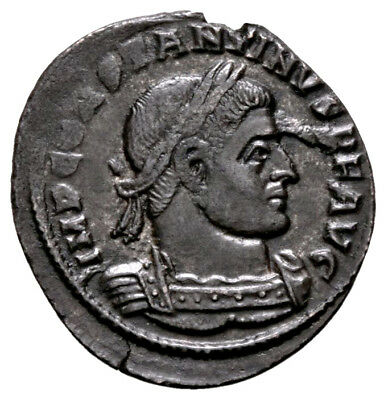 CONSTANTINE THE GREAT (318 AD) Rare Follis. Arles #MA 11227
