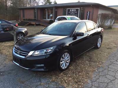 Accord EX L 4dr Sedan 2015 Honda Accord EX L 4dr Sedan 40,660 Miles Black Sedan 2.4L I4 Natural Aspira